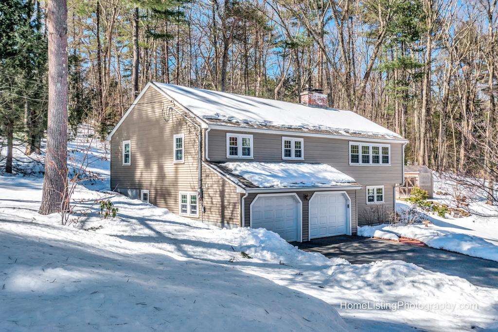 Acton MA professional real estate photo for MLS by Home Listing Photography