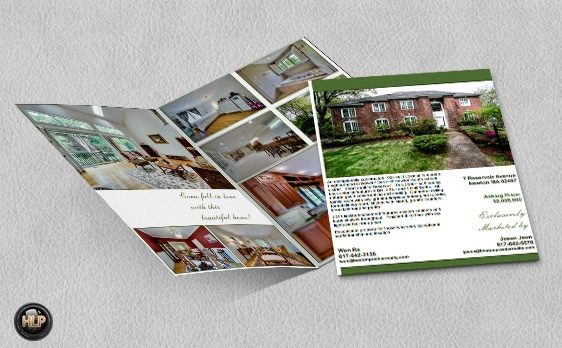 real estate brochure for agents